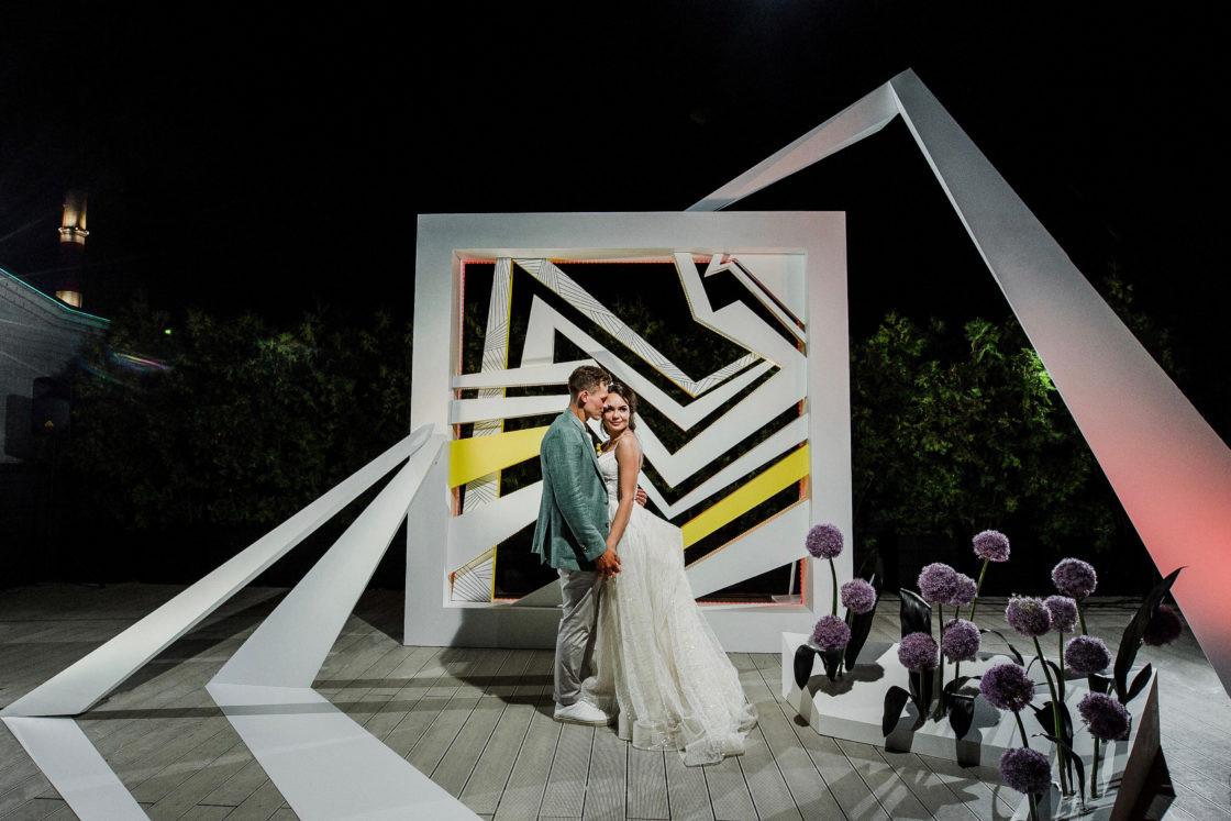 Свадебная фотозона: где поставить и как оформить