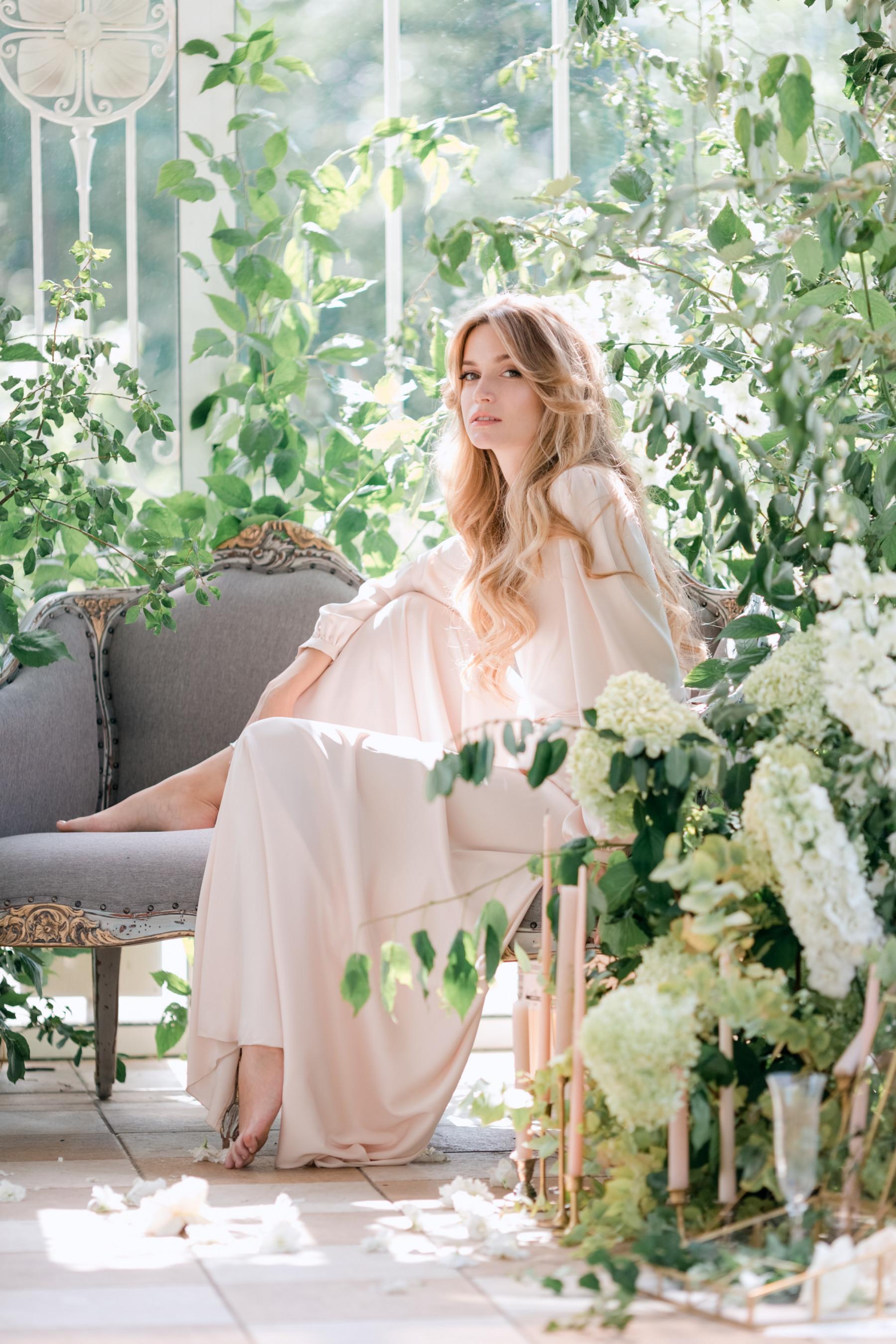 Сад внутри: свадьба в Подмосковье
