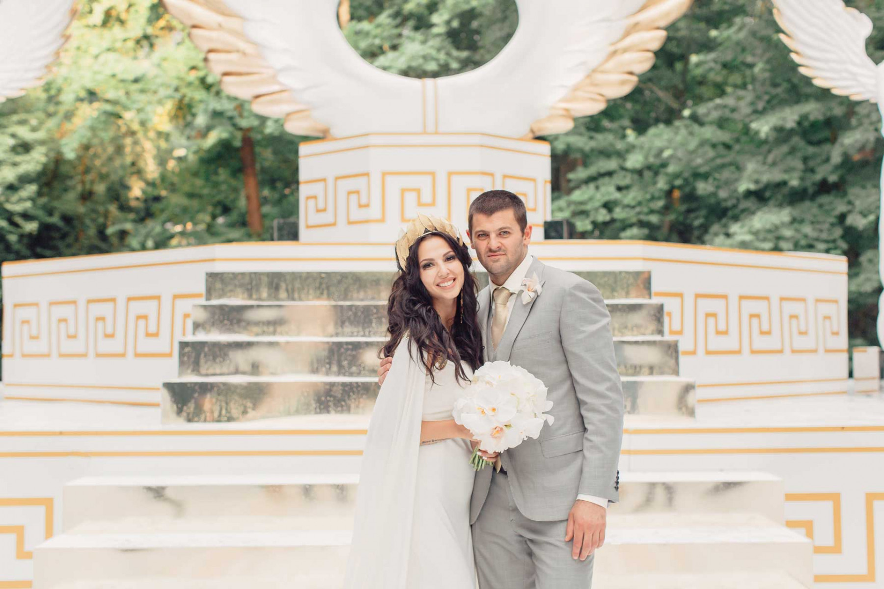 Свадьба хоккеиста Александра Радулова и гимнастки Дарьи
