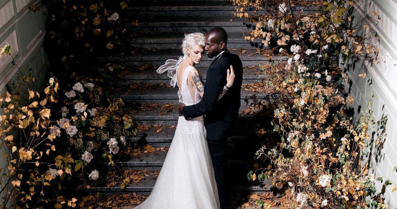 Необычная осенняя свадьба в Санкт-Петербурге