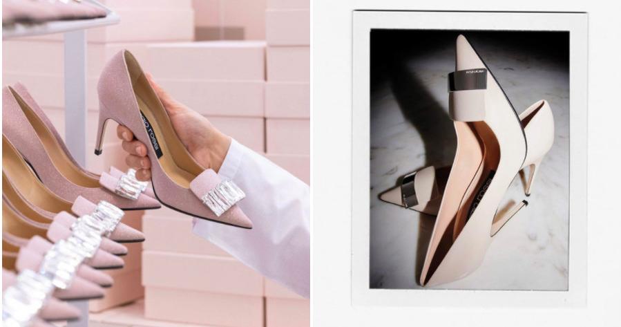 Самые красивые свадебные туфли Sergio Rossi