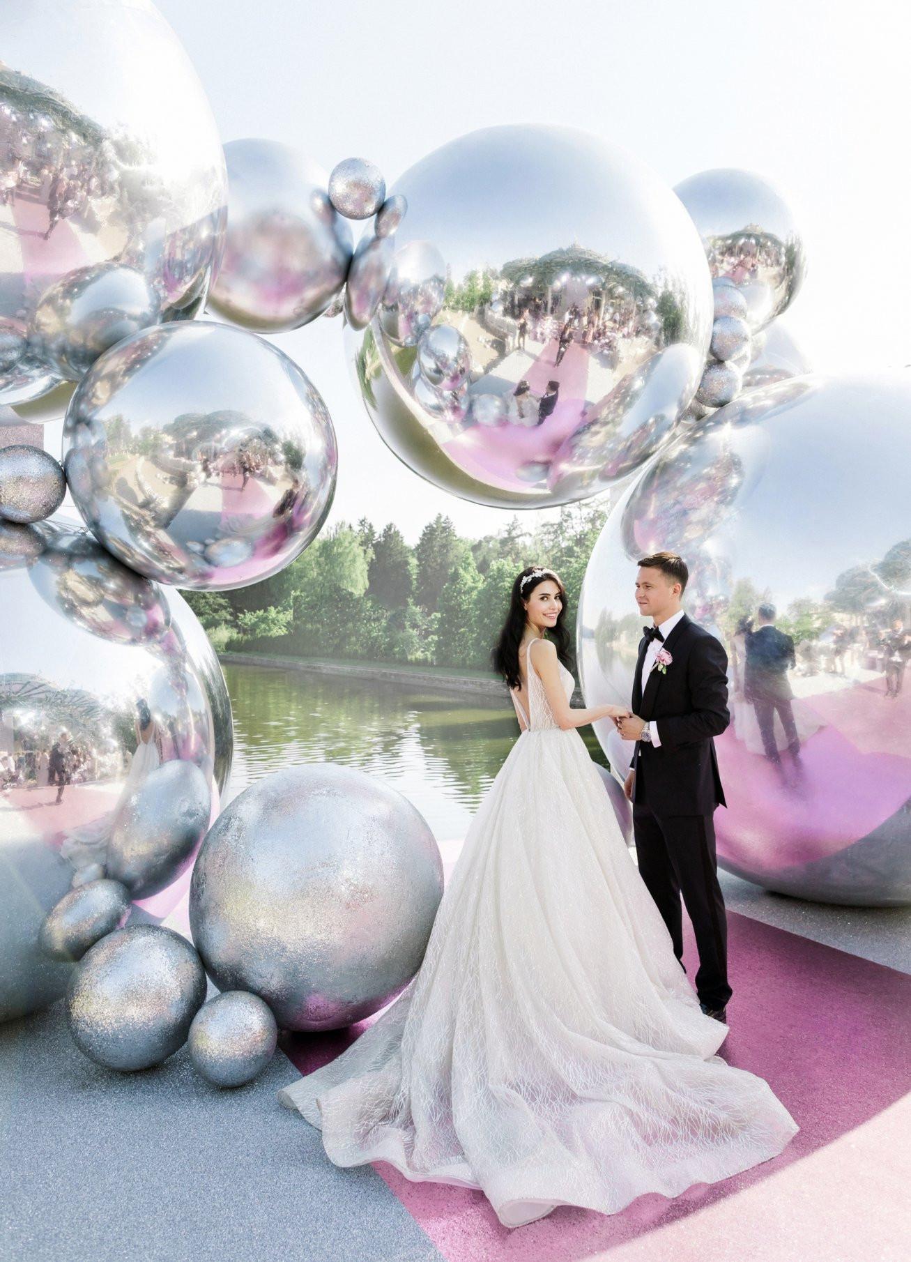 Свадьба футболиста Александра Сапеты и Яны