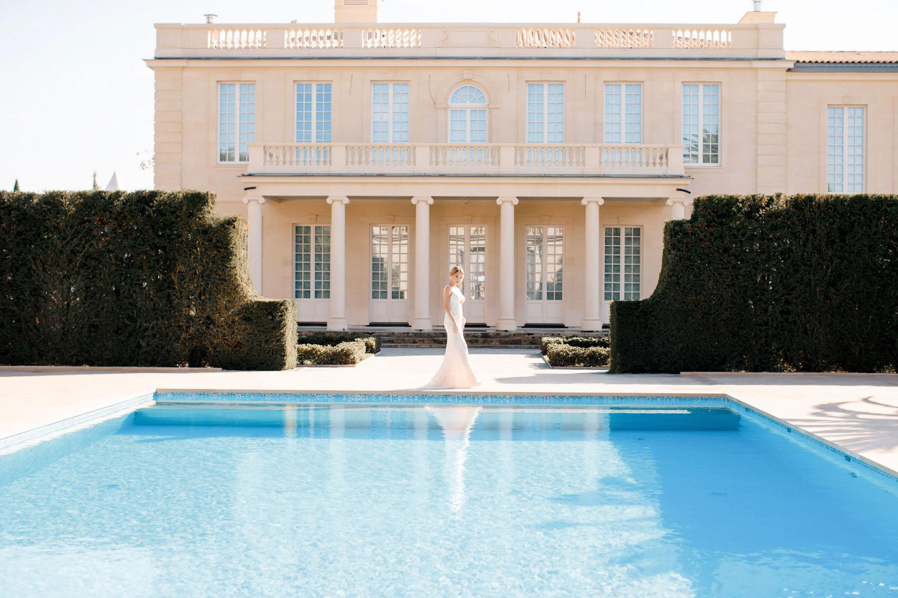 Невероятно нежная свадьба в Бордо
