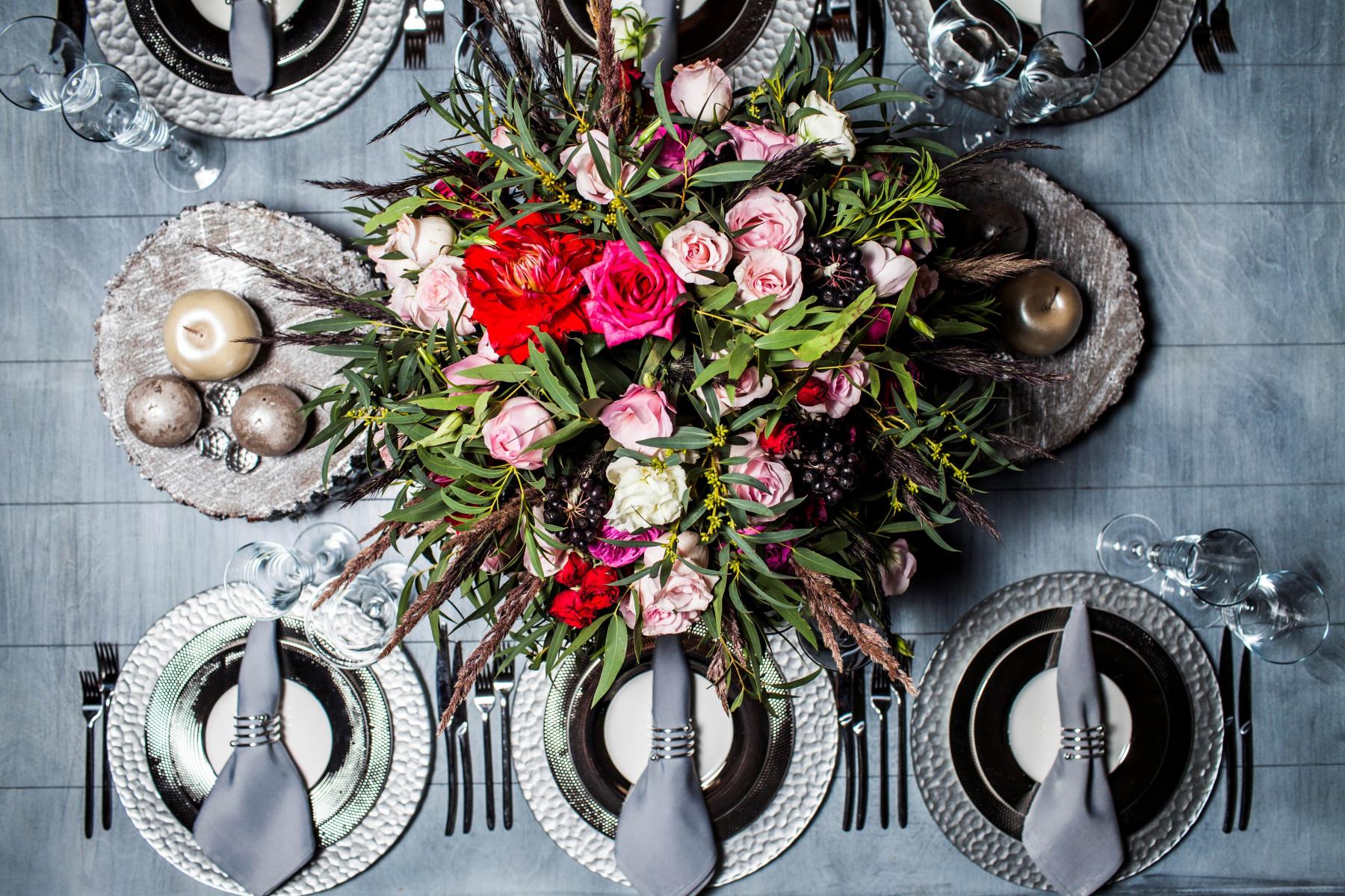Самые модные варианты свадебной сервировки