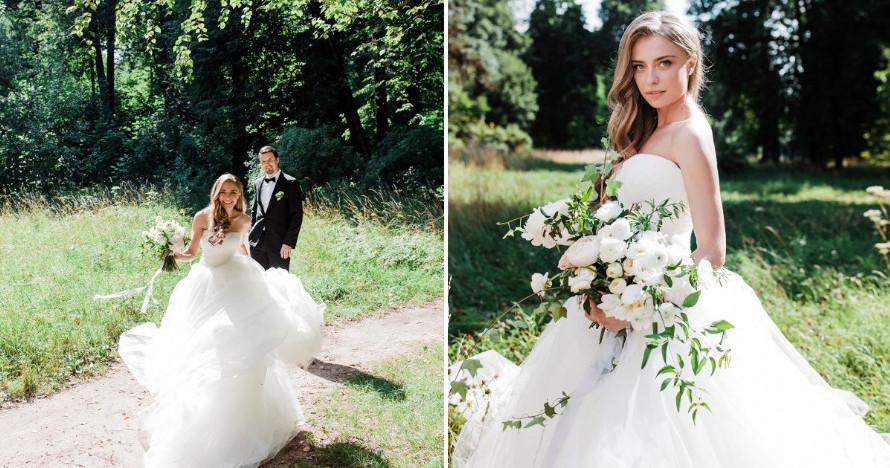 3 свадьбы в лесу среди елей и