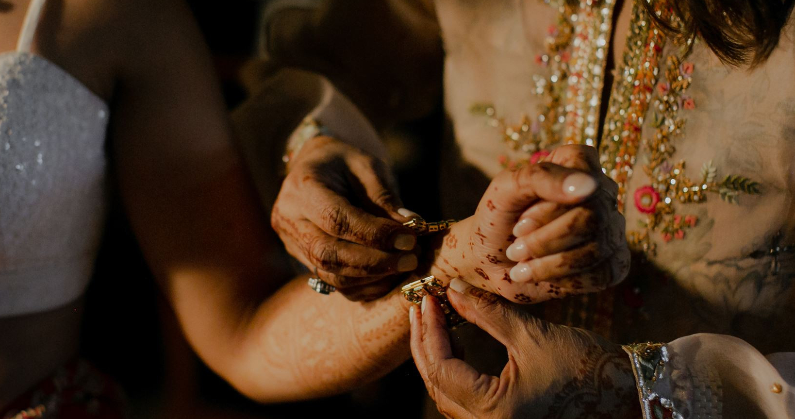 Chic Indian ceremony & rehearsal dinner