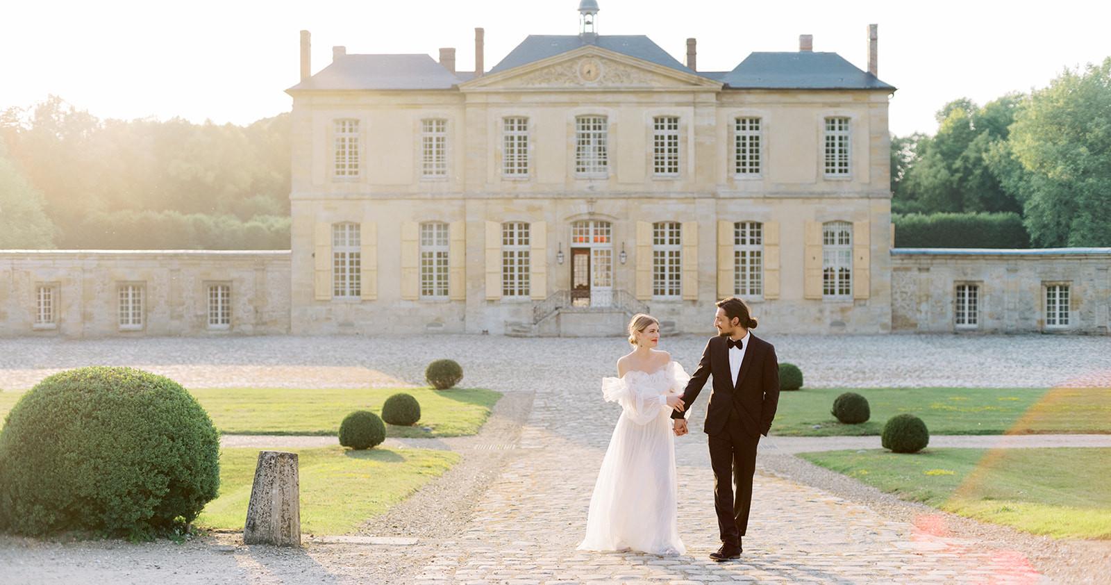 Французская свадьба в объективе Юлии Каптеловой