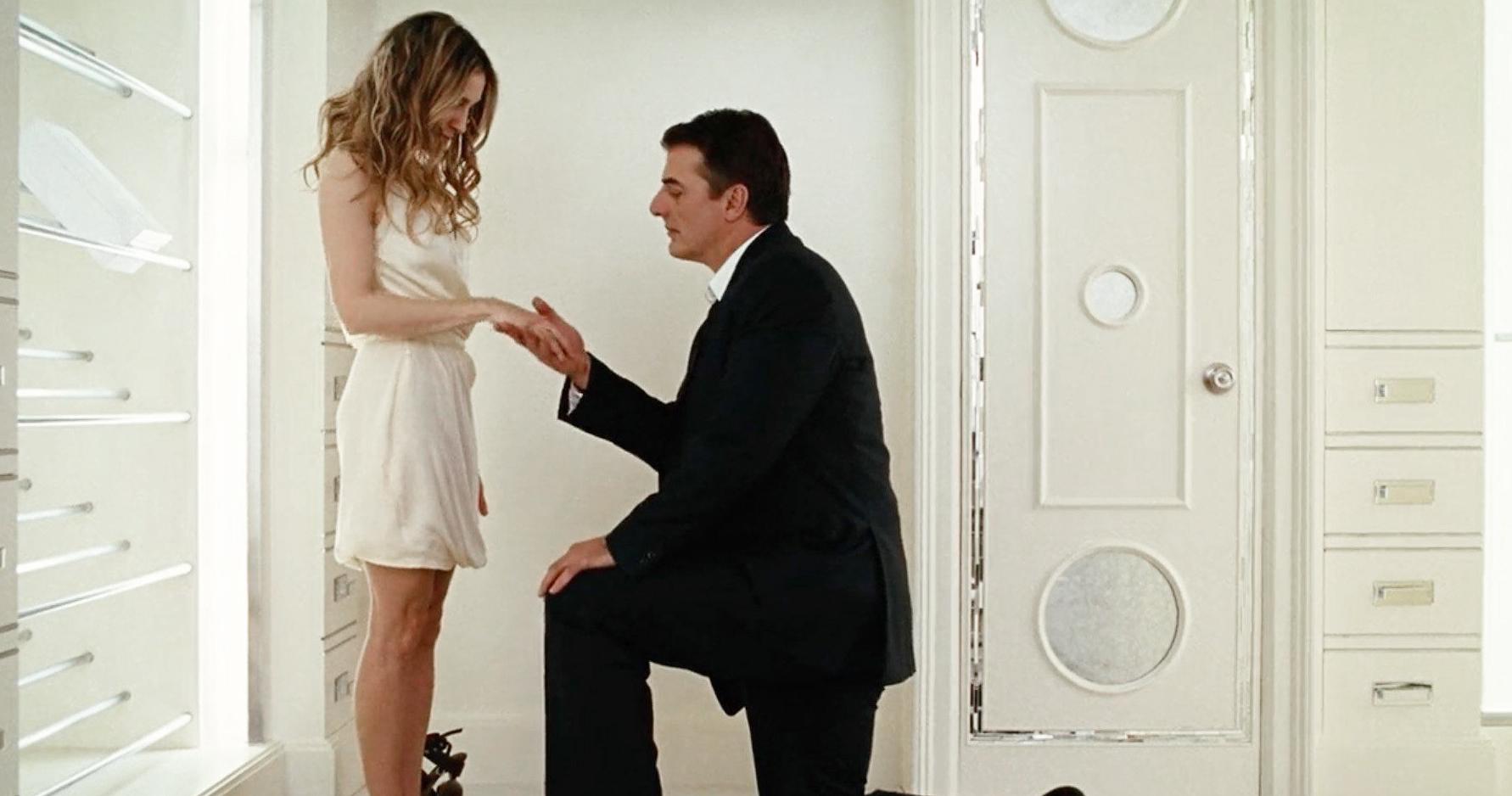 5 самых романтичных помолвок в кино