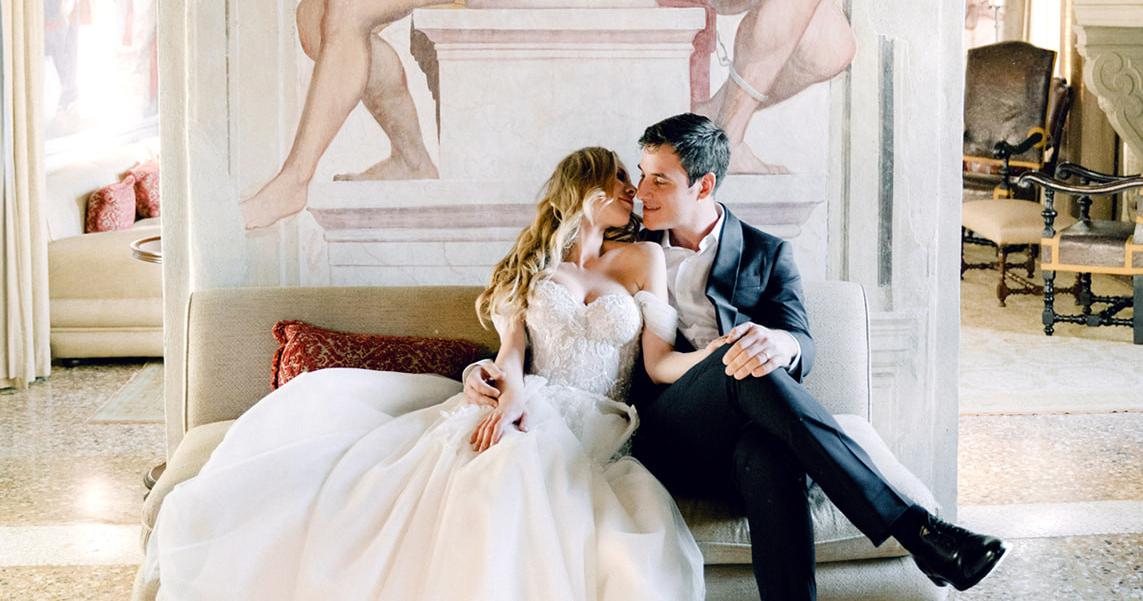 Сказочная свадьба на севере Италии