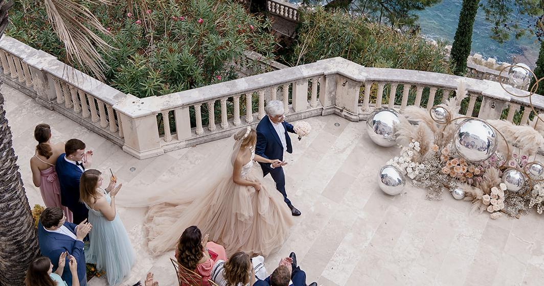 Осенняя свадьба на побережье Хорватии
