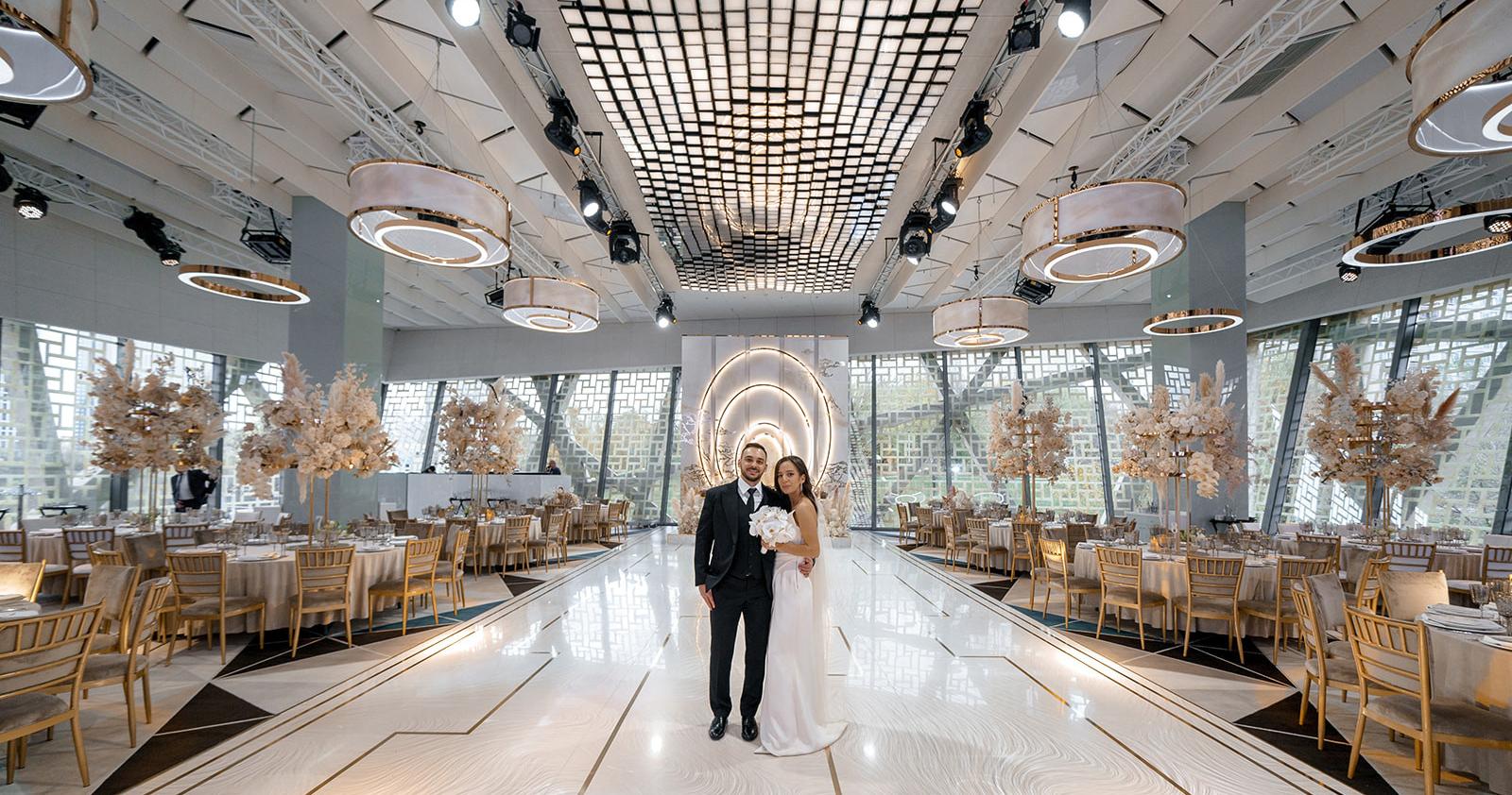 Orion Hall — технологичная площадка для свадьбы