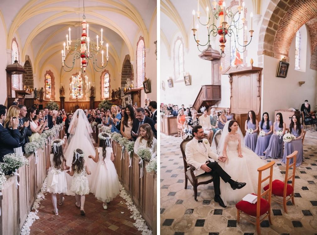 Романтика французского шато: свадьба в Бургундии