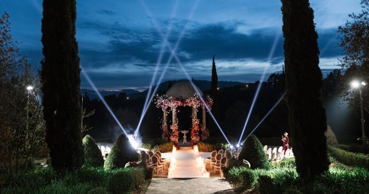 Свадьба в одном из самых роскошных шато