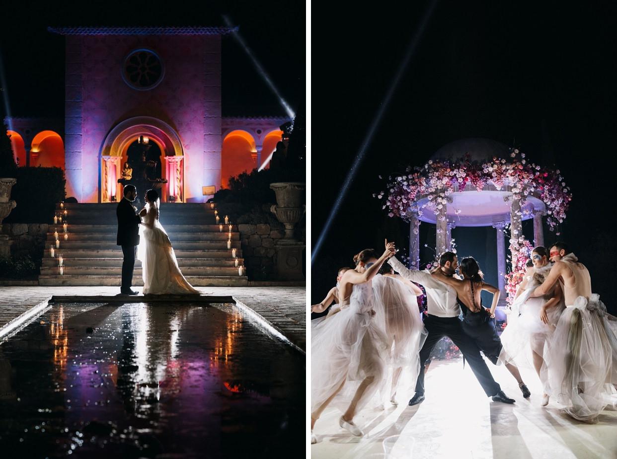 Когда ночь сменяет день: свадьба на Лазурном