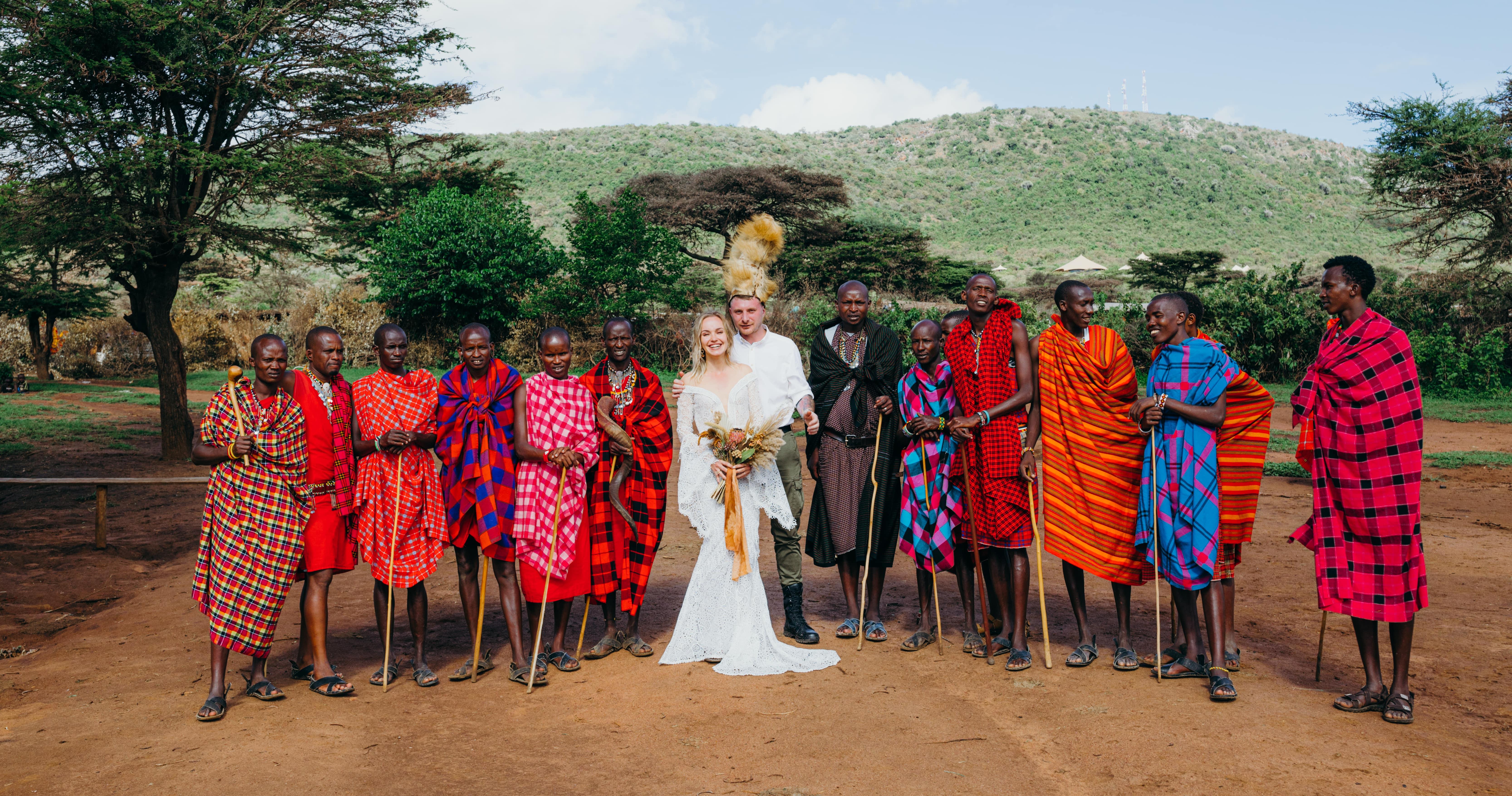 Свадьба в Африке: история реальной невесты