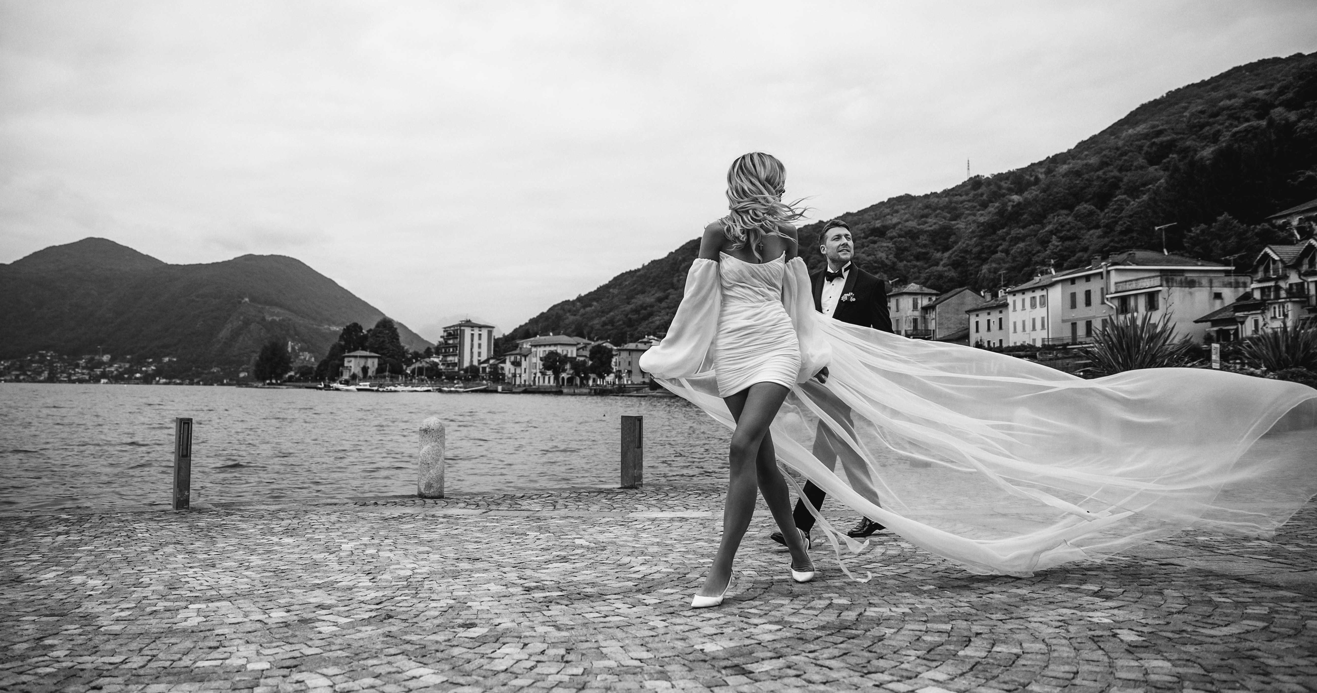 Элегантная свадьба на вилле Porro Pirelli