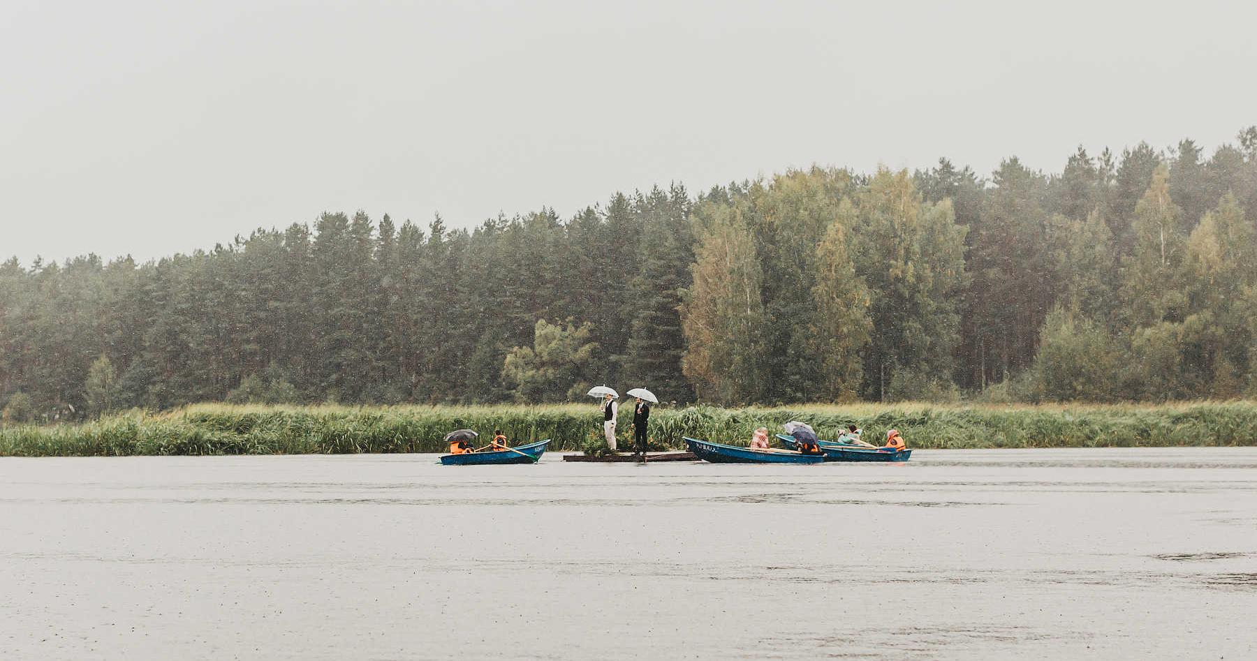Осенняя свадьба на берегу Волги