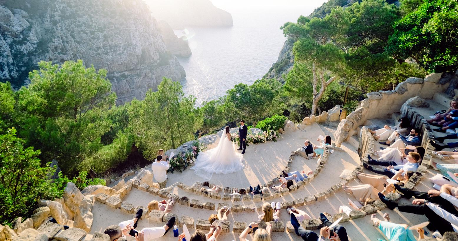 Свадебная вечеринка на острове Ибица