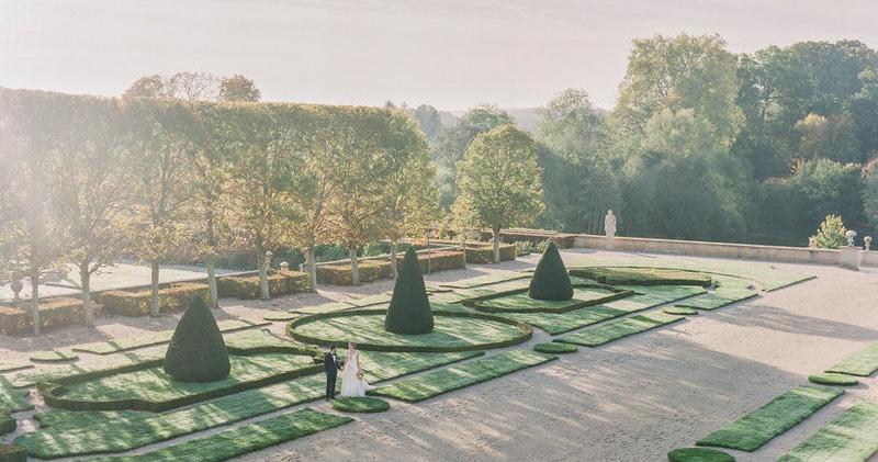 6 небанальных мест для свадьбы во Франции
