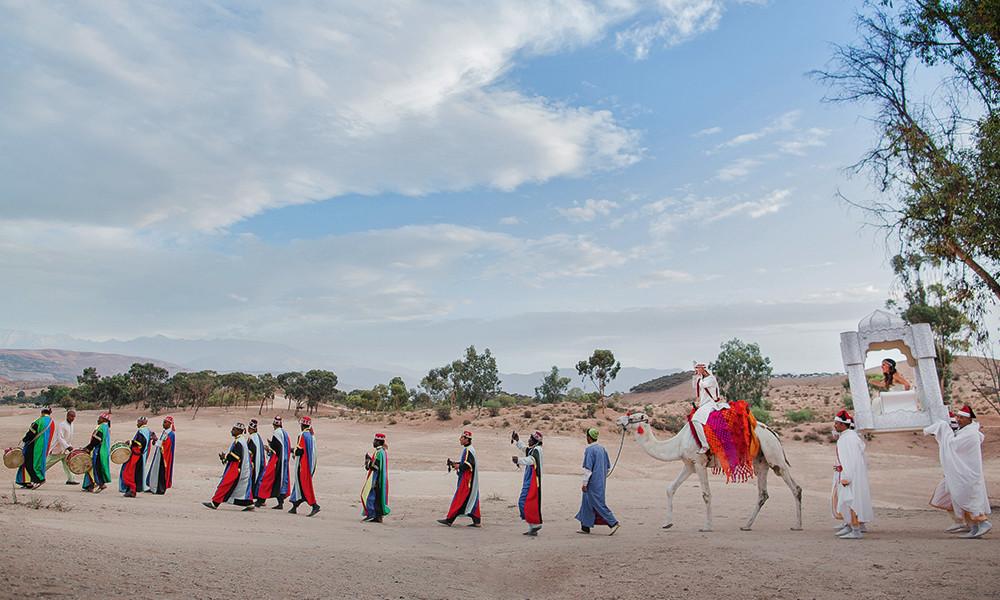 Свадьба дочери Валерия Меладзе в Марокко