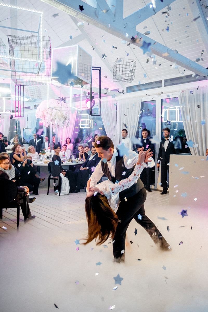 «Медленная звезда»: свадьба в стиле глэм-рок