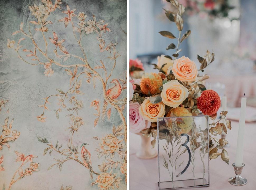 Преображение:  нежная свадьба с элементами стиля