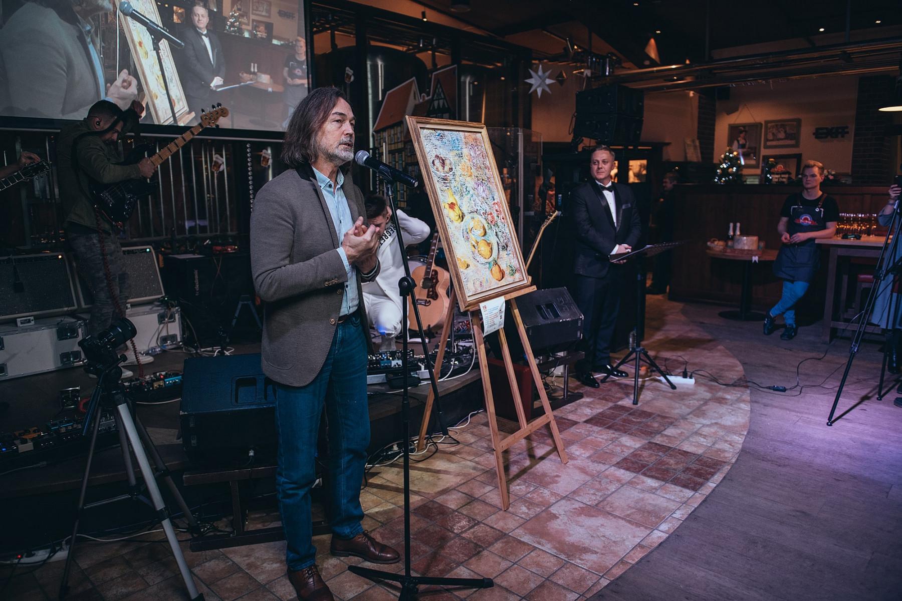 Антон Абучкаев провел масштабный благотворительный вечер