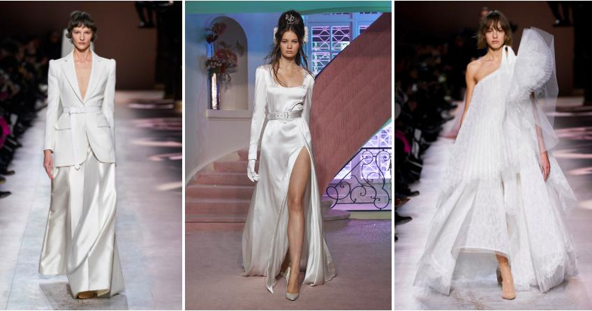 Свадебные платья в кутюрных коллекциях весна-лето 2020