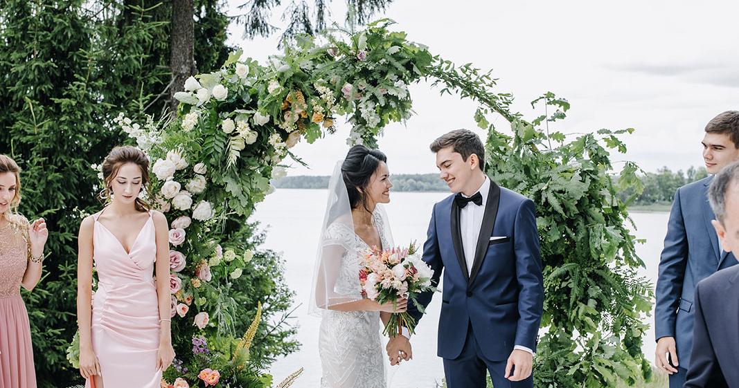 Трогательная свадьба в Berta Village