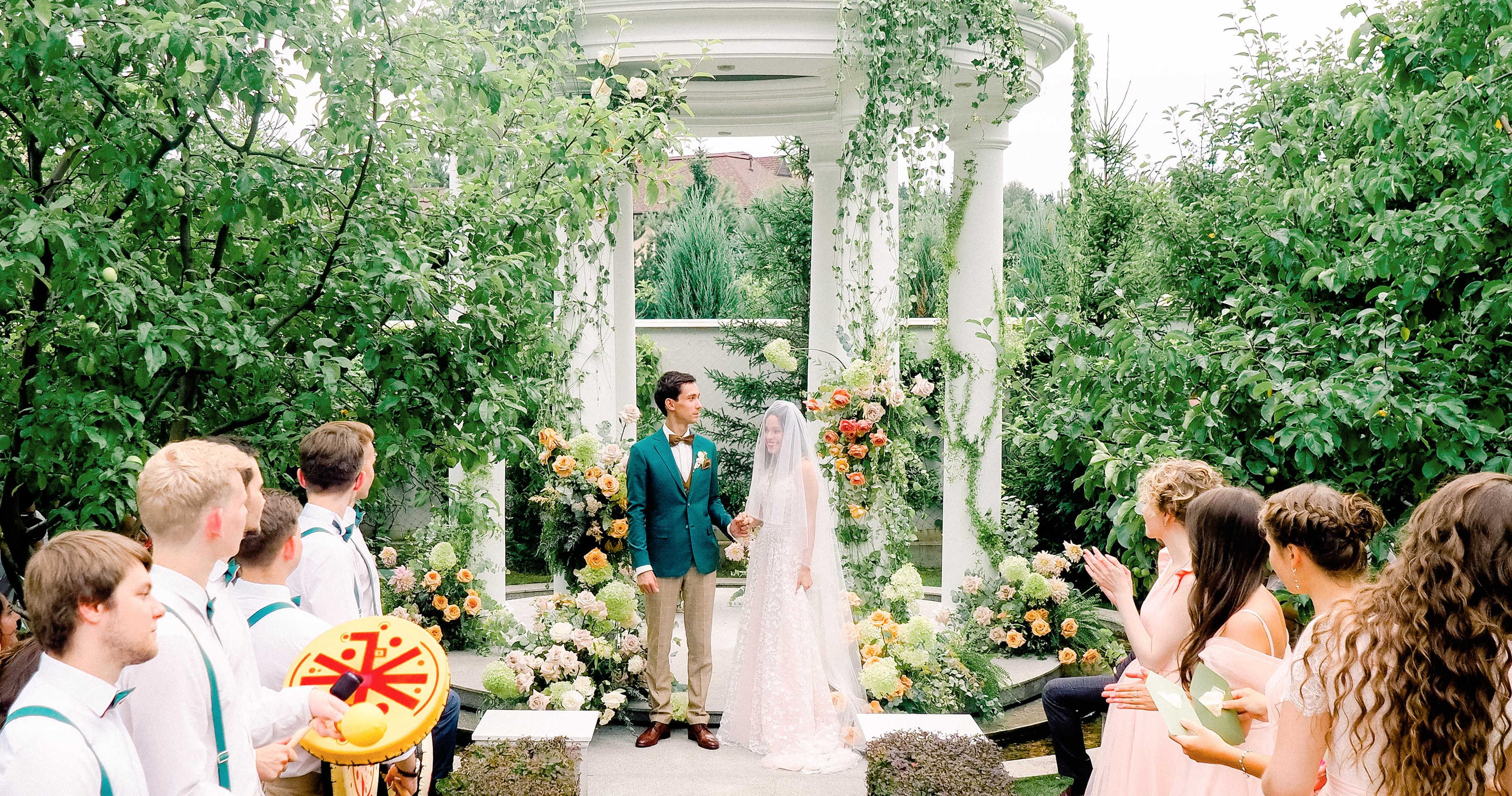 Свадьба в семейном загородном доме