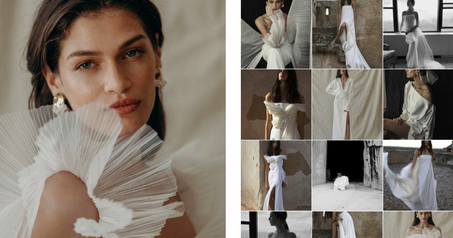 5 instagram accounts with wedding dresses every