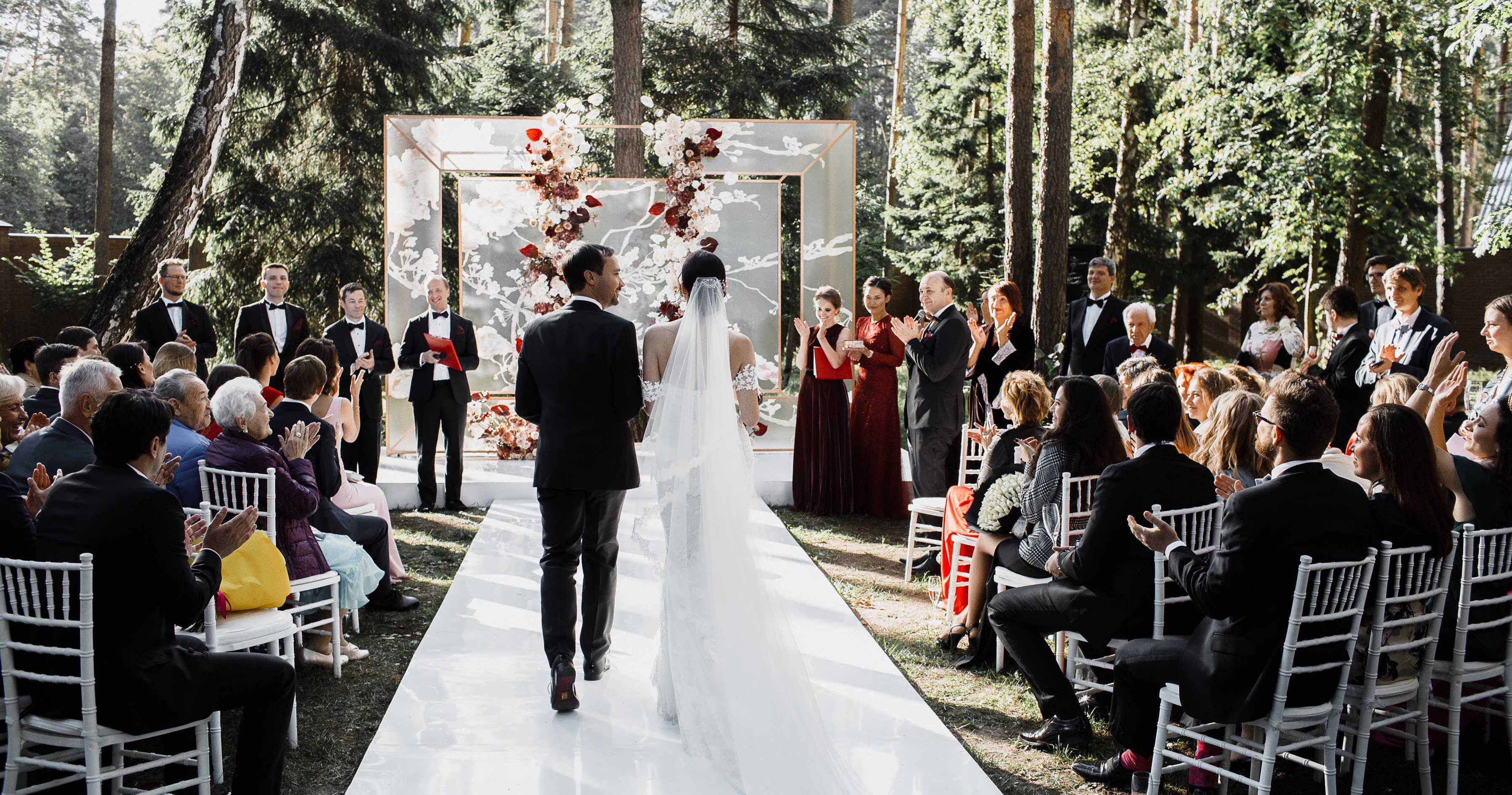 3 варианта оформления свадьбы на разный бюджет