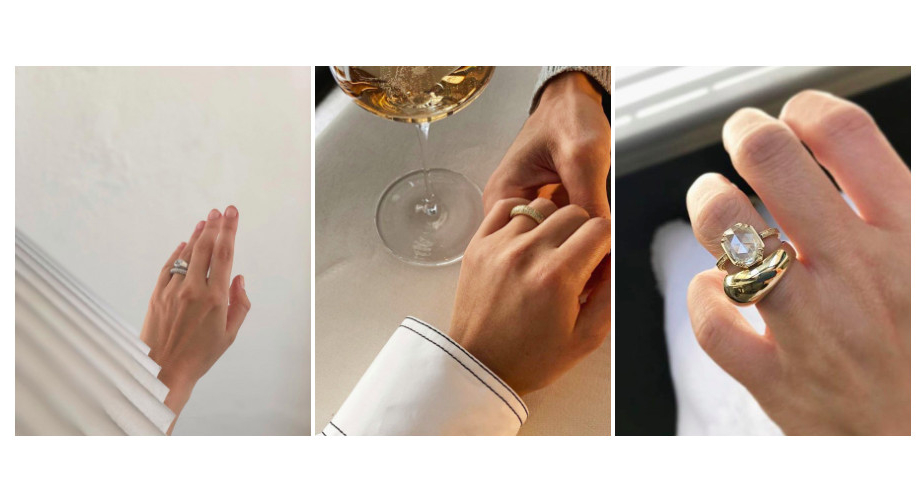 Ring selfies: how to share your engagement