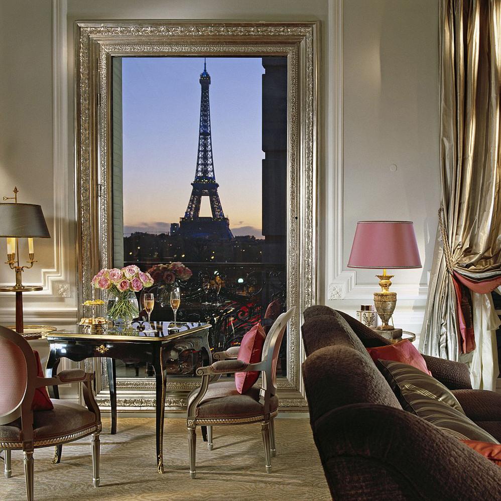 Свадьба в Париже: ТОП-5 лучших отелей