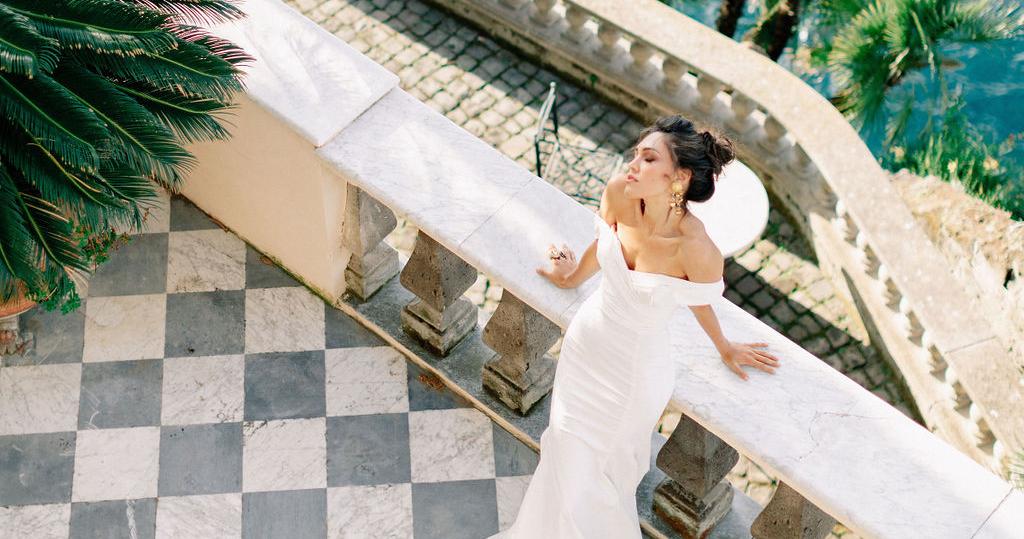 Свадьба на итальянской вилле с видом на