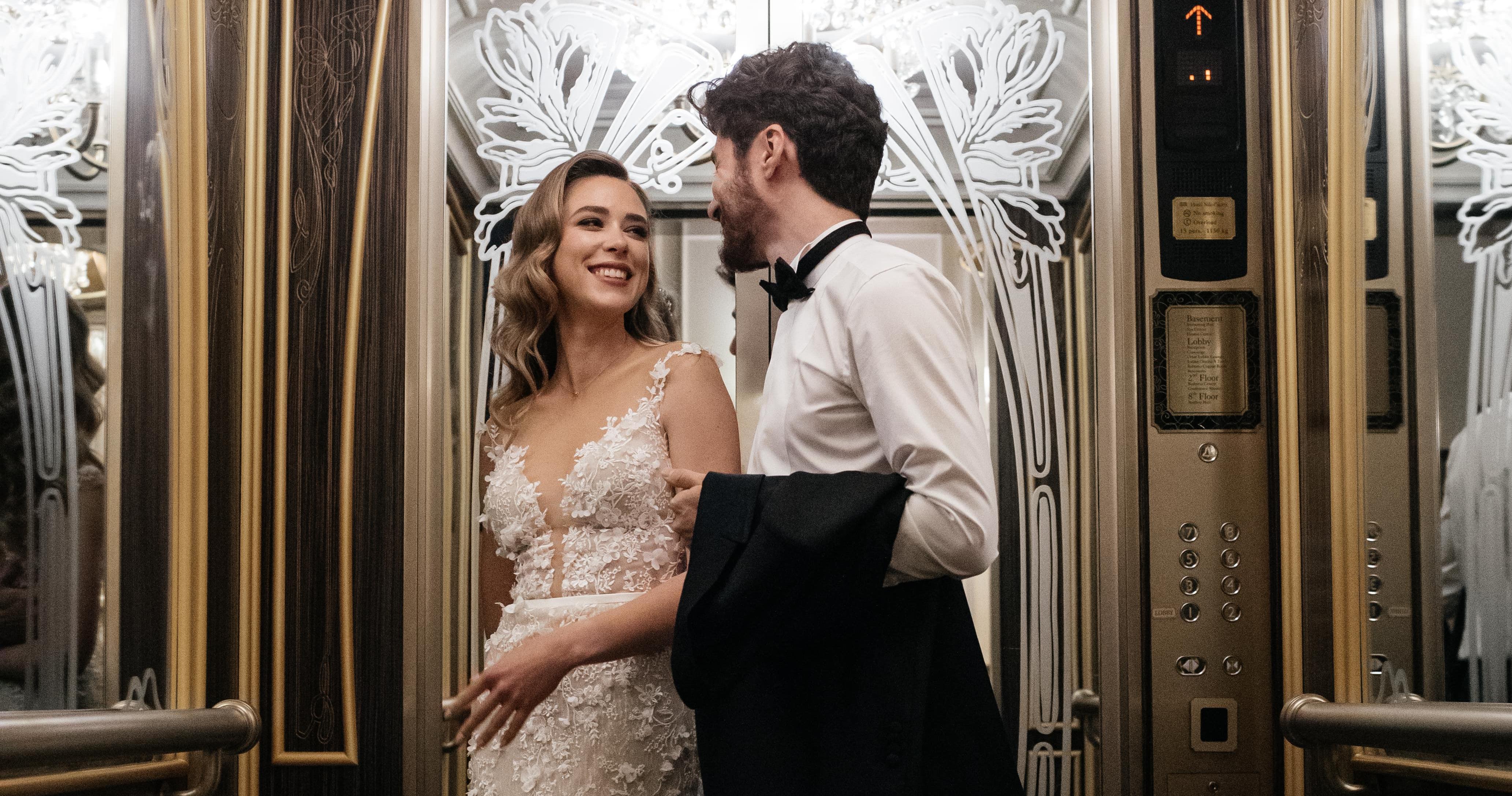 Романтичная свадьба в отеле The St. Regis