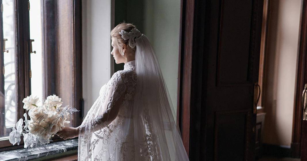 Нежная классическая свадьба в особняке Смирнова
