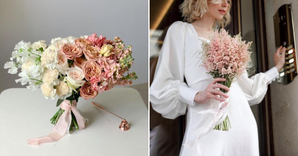 Где купить готовый букет невесты в Москве
