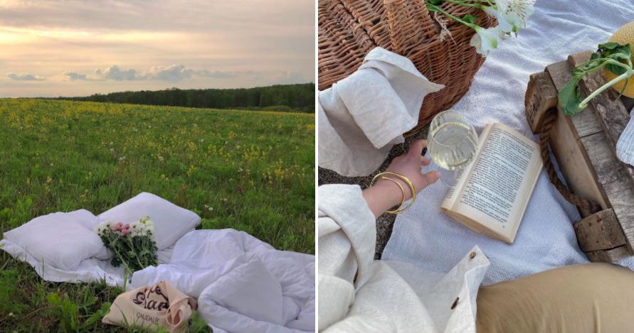 «Инстаграмный» пикник в Москве. Что взять с