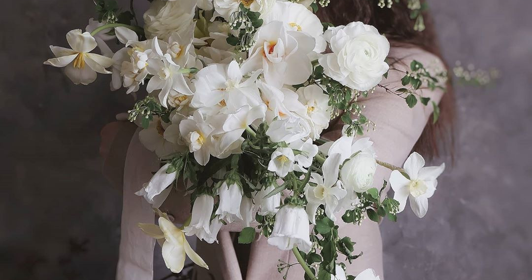 Do you want a modern bridal bouquet?