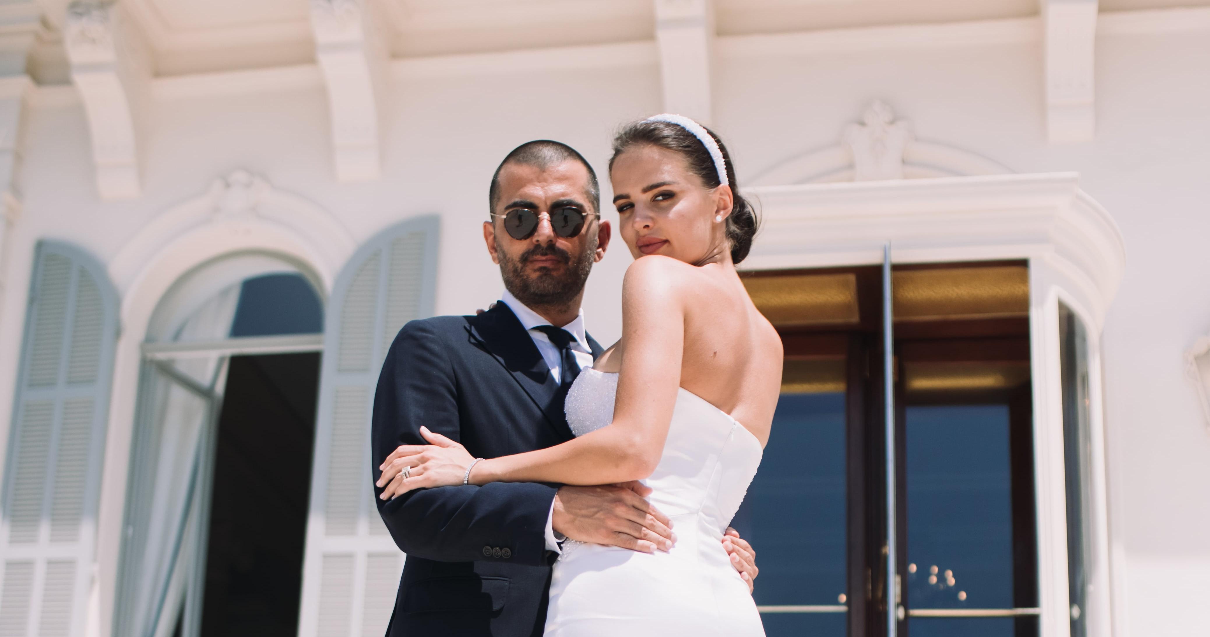 Свадьба украинской модели Анны Андрес на Лазурном
