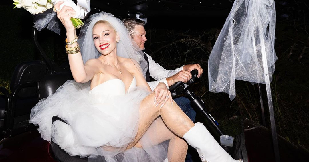 Гвен Стефани вышла замуж. Показываем первые кадры