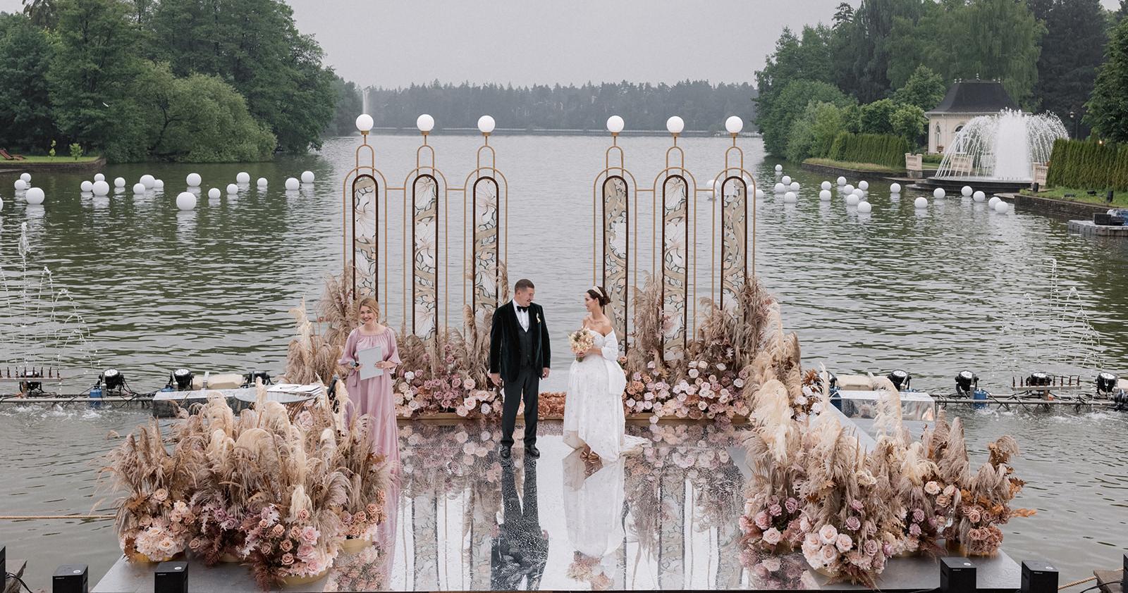 Сказочная свадьба в пастельных тонах