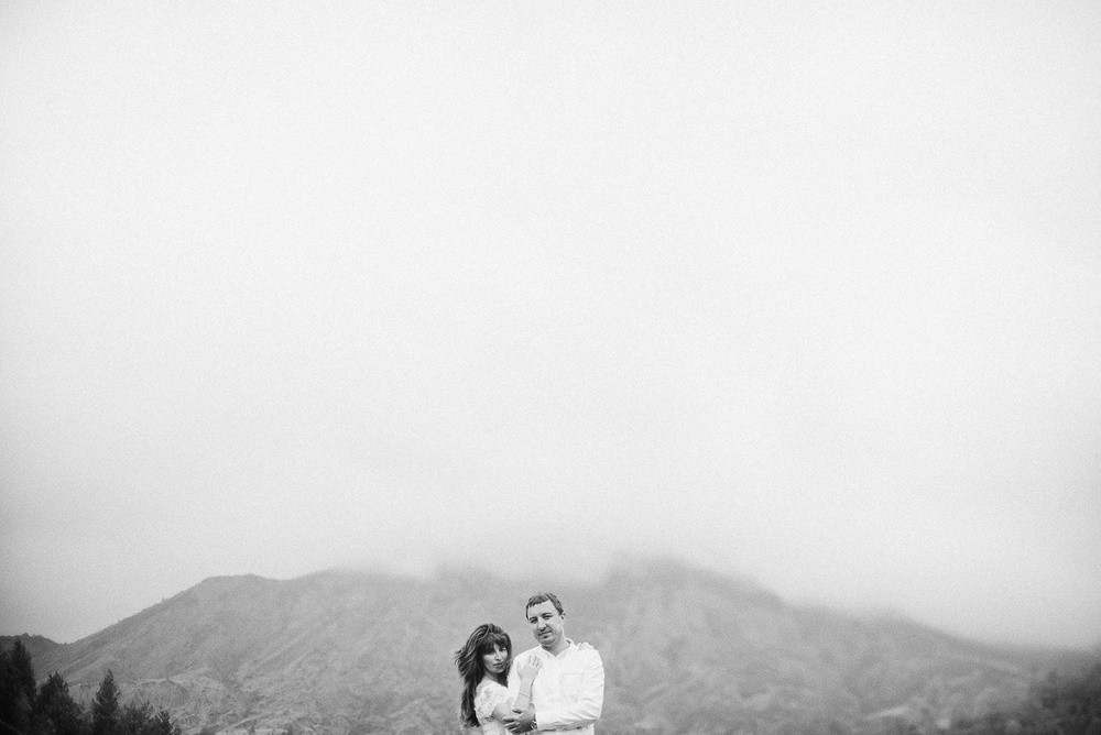 На вулкане: свадебная фотосессия с острова Бали
