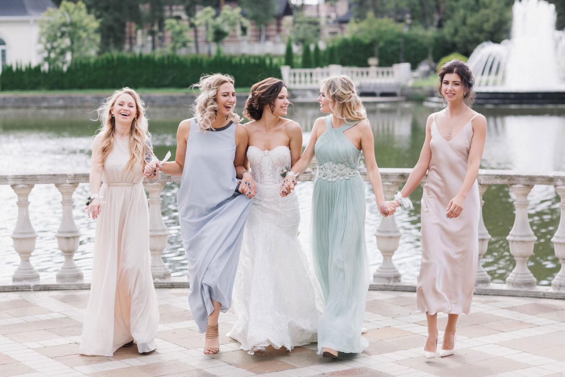 Лазурные пейзажи: свадьба Елены и Александра