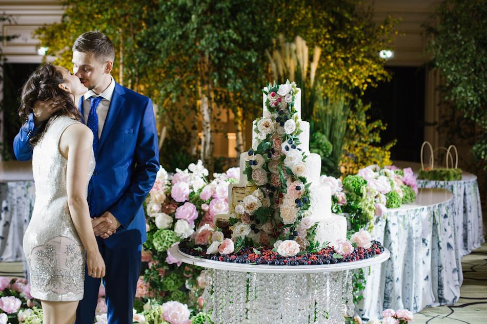 Свадьба в отеле Four Seasons Hotel Moscow: