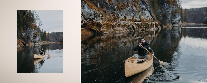 Леса и озера: лавстори на Урале от