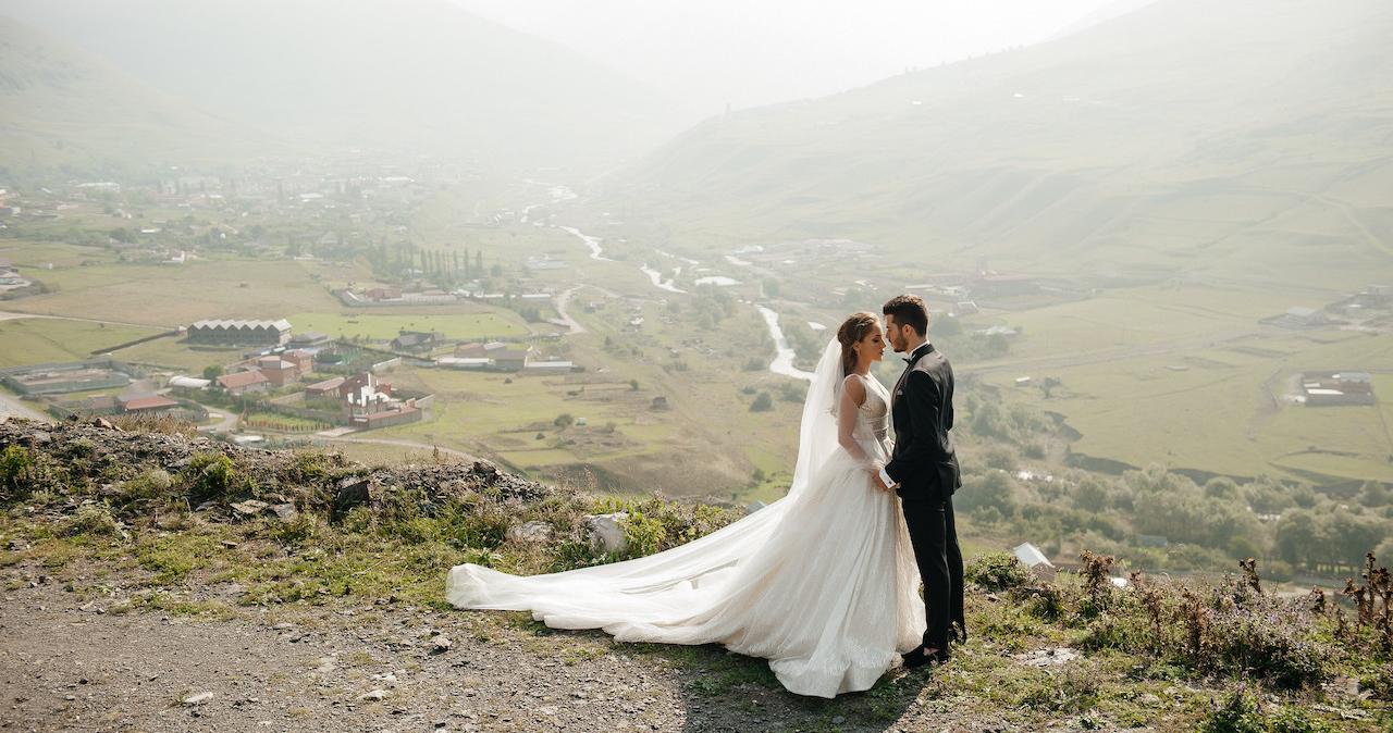 Белоснежная свадьба в Северной Осетии