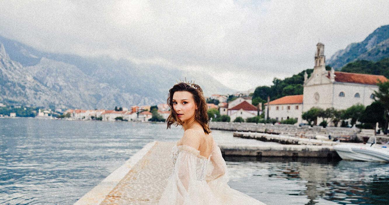 Ослепительная свадьба в Черногории