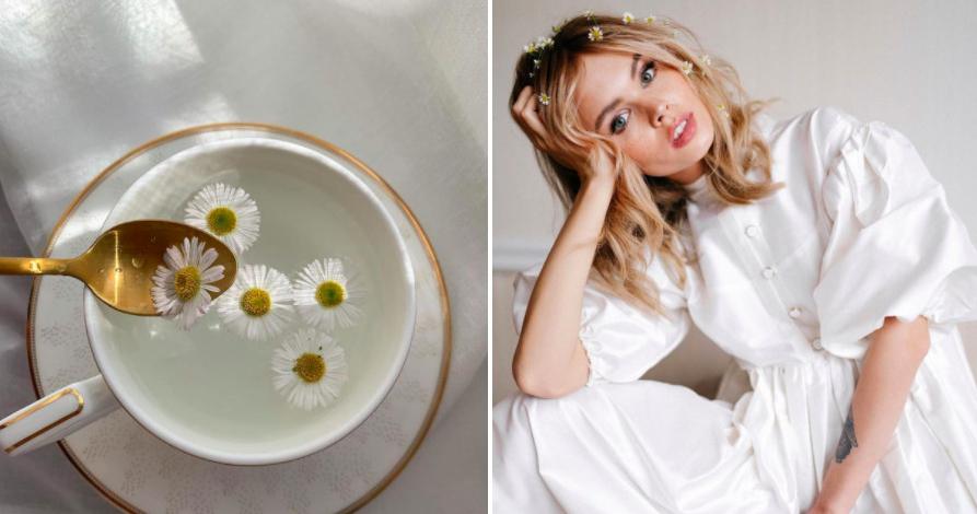 Цветы в волосах — самый летний свадебный